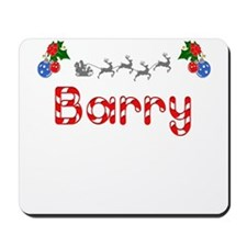 Barry, Christmas Mousepad