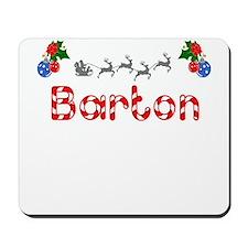 Barton, Christmas Mousepad