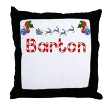 Barton, Christmas Throw Pillow