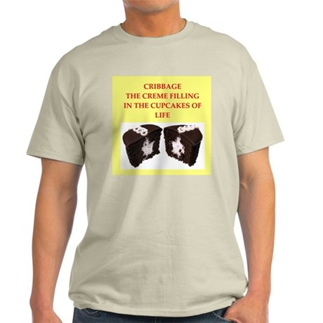 cribbage Light T-Shirt