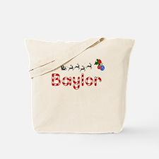 Baylor, Christmas Tote Bag