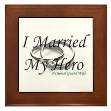 I Married My Hero, NG WIFE Framed Tile