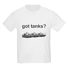 got tanks? Kids T-Shirt