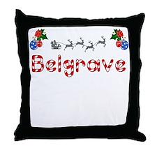Belgrave, Christmas Throw Pillow