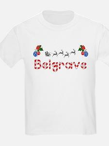 Belgrave, Christmas T-Shirt