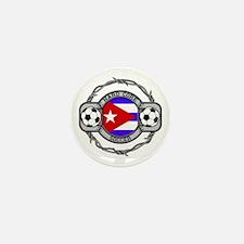 Cuba Soccer Mini Button