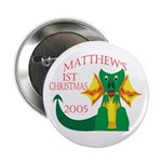 Matthew's 1st Christmas 2005 Button