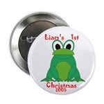 Liam's 1st Christmas 2005 Button
