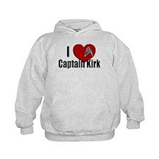 I Love Captain Kirk Hoodie