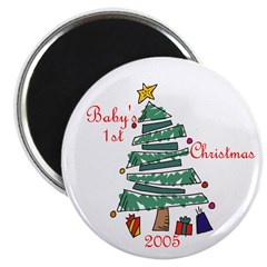 Baby's First Christmas 2005 Magnet