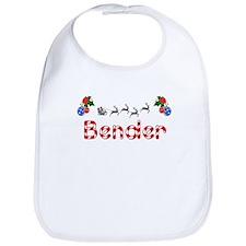 Bender, Christmas Bib