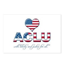 I <3 ACLU Postcards (Package of 8)