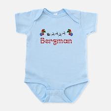 Bergman, Christmas Infant Bodysuit
