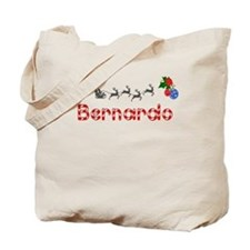 Bernardo, Christmas Tote Bag