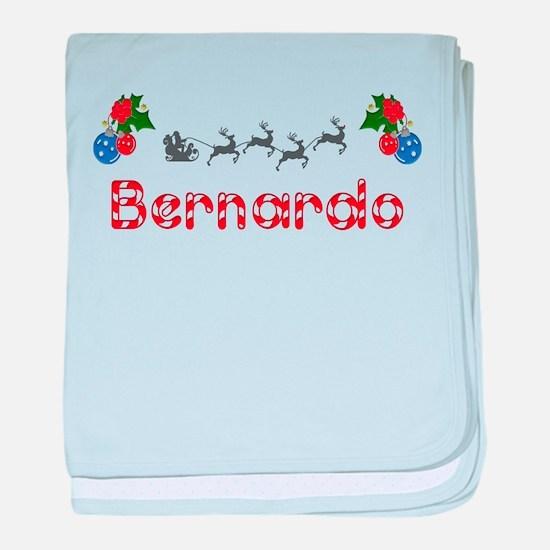 Bernardo, Christmas baby blanket