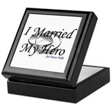 Air force wife Keepsake Boxes