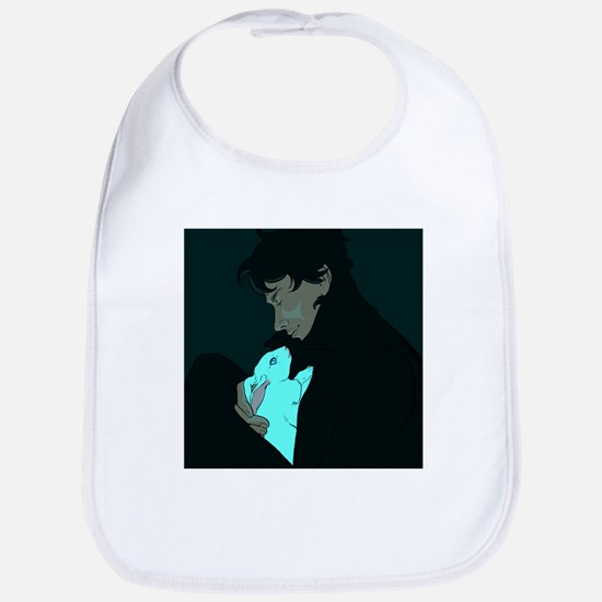 Sherlock and Bluebell Bib