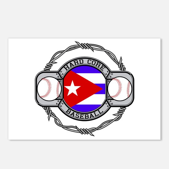 Cuba Baseball Postcards (Package of 8)