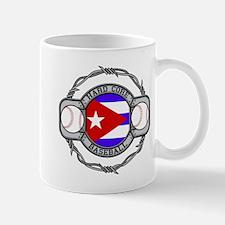 Cuba Baseball Mug