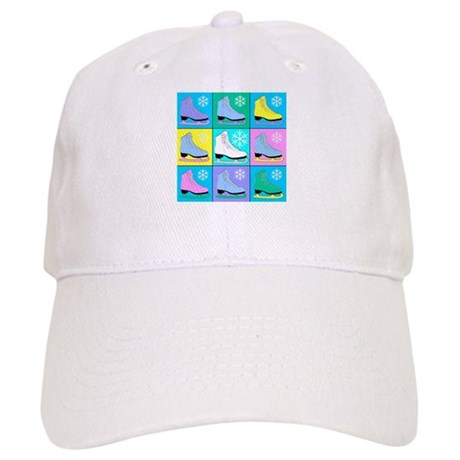 Frosty Colors Ice Skates Cap