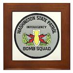 WSP Bomb Squad Framed Tile