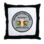 WSP Bomb Squad Throw Pillow