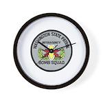 WSP Bomb Squad Wall Clock