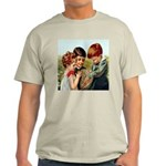 Sharing Surprises Ash Grey T-Shirt