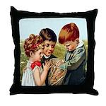 Sharing Surprises Throw Pillow
