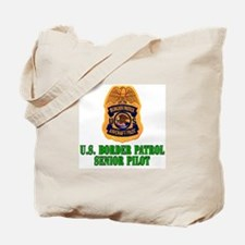 Border Patrol Pilot Tote Bag