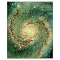 M51 whirlpool galaxy Poster