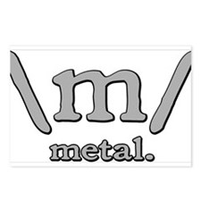 M FOR METAL Postcards (Package of 8)
