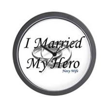 I Married My Hero, NAVY WIFE Wall Clock