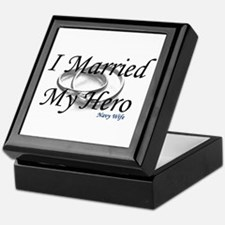 I Married My Hero, NAVY WIFE Keepsake Box