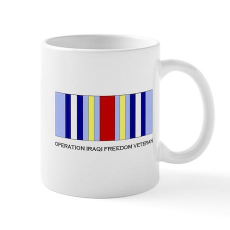 OIF/GWOT Medal Coffee Mug