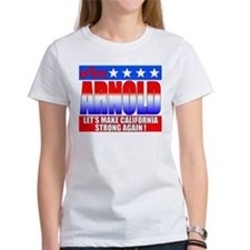 """Governor Arnold"" Women's T Shirt"
