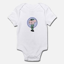 Camo Piggy Infant Bodysuit