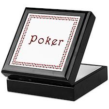 "Wooden Card Box ""Poker"""