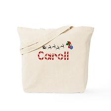 Caroll, Christmas Tote Bag