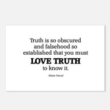 Love Truth Postcards (Package of 8)