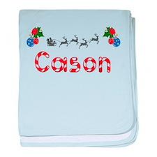 Cason, Christmas baby blanket