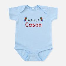 Cason, Christmas Onesie