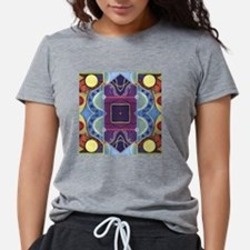 Cute Triangle square shopping center Womens Tri-blend T-Shirt