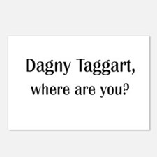 Where's Dagny Postcards (Package of 8)