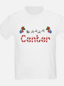 Center, Christmas T-Shirt