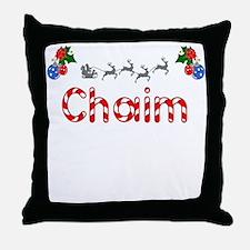 Chaim, Christmas Throw Pillow