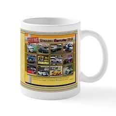 2013 TROUBLE Mustang coffee mug