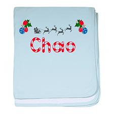Chao, Christmas baby blanket