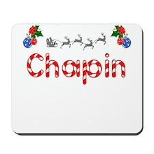 Chapin, Christmas Mousepad