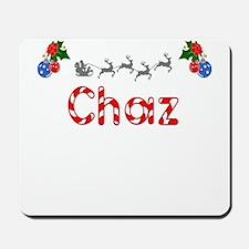 Chaz, Christmas Mousepad
